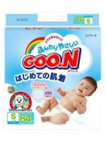 大王GOON 紙尿片 (MADE IN JAPAN) S碼 4-8kg (84片)