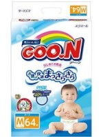 大王GOON 紙尿片 (MADE IN JAPAN) M碼 6-11kg (64片)
